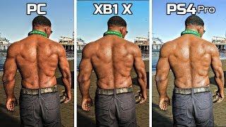 GTA 5 | PC VS Xbox One X VS PS4 Pro | Graphics Comparison ( 2019 Update )