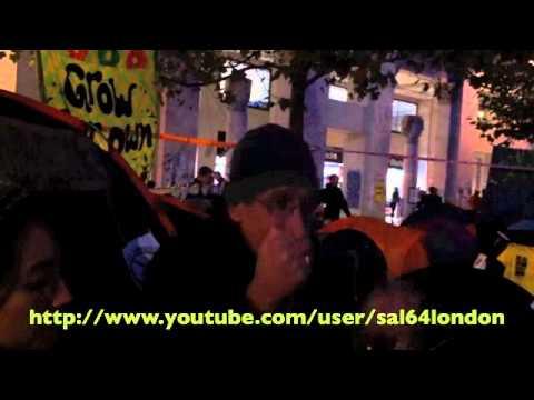 "Occupy London OccupyLSX 20 10 2011 ""Day 06"" The Egyptian revolution By Philip Marfleet"