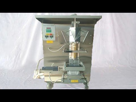automatic liquid pouch packing machine 1kg water bags bagging equipment السائل ملء آلة
