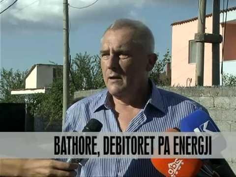 Bathore, debitorët pa energji - Vizion Plus - News - Lajme