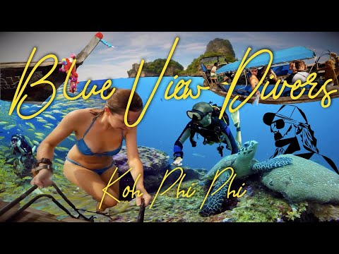 Koh PHi PHi Scuba Diving with Blue View Divers Thailand