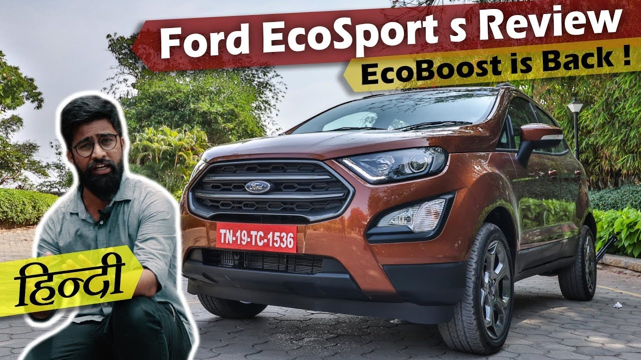 ford ecosport s reviewvikas yogi - best compact suv in india