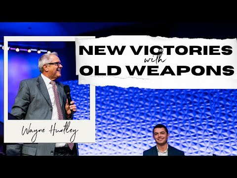 """New Victories With Old Weapons"" – Wayne Huntley"
