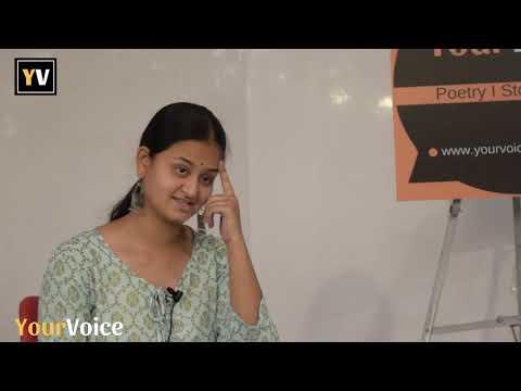 """Nice Hindi Poetry """"Khidki"""" By Mansi Goswami 'Siyah'"""