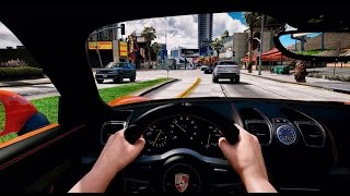 ► GTA 5 REDUX ✪ - Ultra Realistic Graphic ENB MOD - First Person Driving! - 1080p 60 FPS - PC GTA V