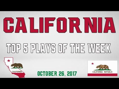 California - Top 5 Plays - Oct. 26