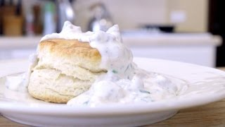 Homemade Biscuits With Spicy Country Gravy Recipe!