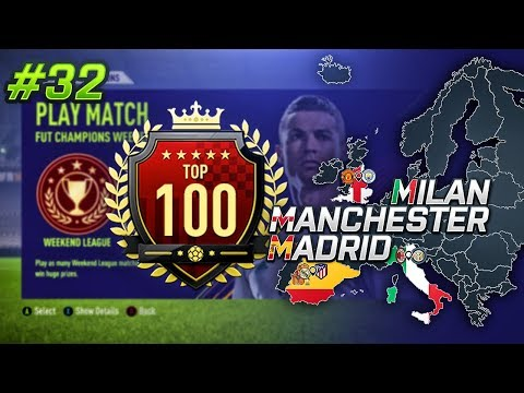 HOW TO GET TOP 100 IN FUT CHAMPIONS IN A DAY! MMM EP32