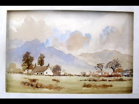 watercolour easy With Alan Owen