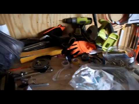 Building a 12volt house part 25. Installing insulation and assorded other things.
