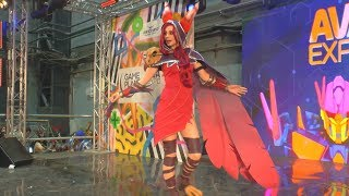 Cosplay Xayah League of L. (joke) /Ava Expo 2017/