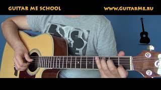 Игра БОЕМ - в стиле PERCUSSION GUITAR. Урок 7 - www.GuitarMe.ru