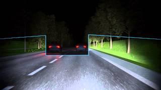 VOLVO CAR - активный дальний свет