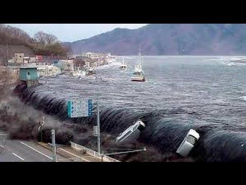 Tsunami En Fukushima Japon Tras Terremoto De Magnitud 7