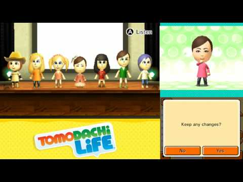 Tomodachi Life: Full Group Pop song x2