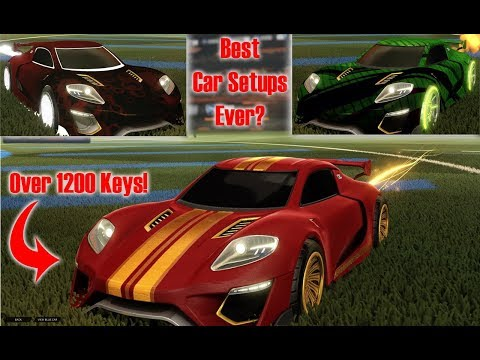 Best Rocket League Car Setups Ever? Jager with BMD/Exotics/Boost - No Key Limit - You Pick!