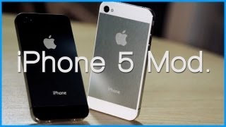 Turn Your iPhone 4 / 4S Into The iPhone 5 (Mod)