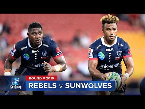 Rebels v Sunwolves | Super Rugby 2019 Rd 8 Highlights