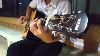 yamaha a3r acoustic guitar  test by aum
