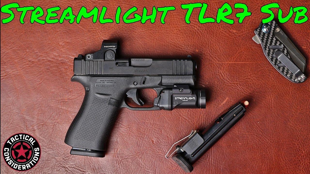 Streamlight TLR7 Sub  Light For Glock, Sig, HK Micro Compact Slimline