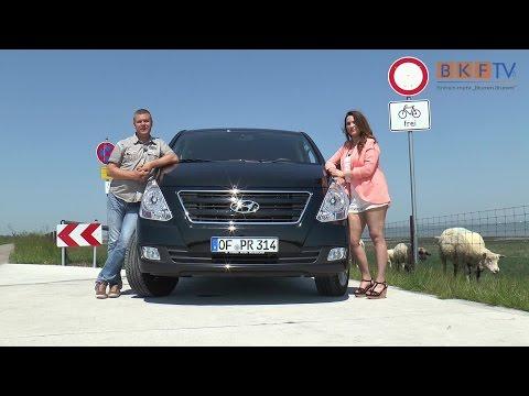 The new Hyundai H1 Travel Premium Der BKF.TV Fahrzeugtest