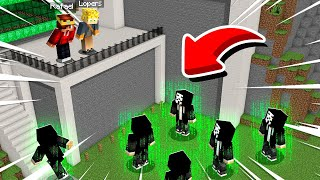 HACKERS INVADIRAM O MUNDO LOPERS E RAFAEL NO MINECRAFT