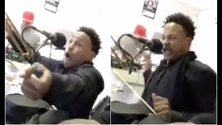 Orlando Brown Spits A Crazy Freestyle High AF At Radio Station