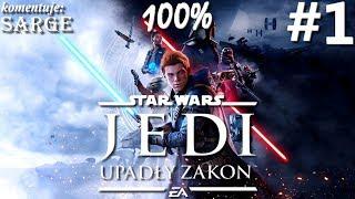 Zagrajmy w Star Wars Jedi: Upadły Zakon PL odc. 1 - Gwiezdne Wojny w świetnym wydaniu