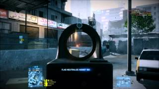 Most talent ever on a public battlefield 3 server? & famas gameplay!