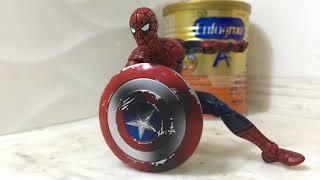 Spiderman vs captain america | captain america vs spiderman | captain america vs ironman