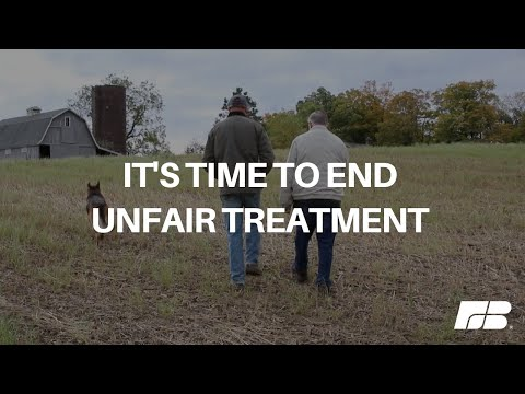 It's Time to End Unfair Treatment