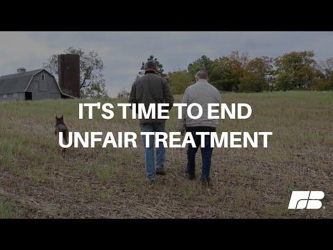It's Time to End Unfair Treatment