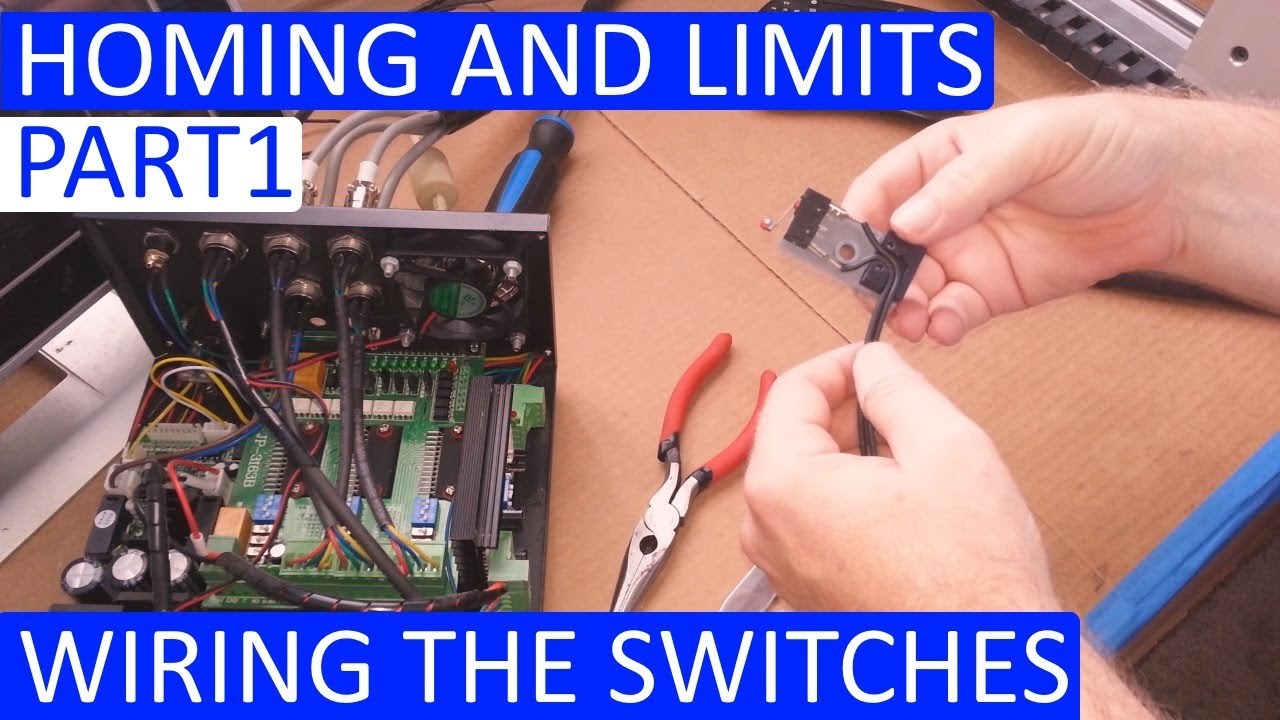 CNC 3020T – Homing And Limits – Wiring It Up Part 1