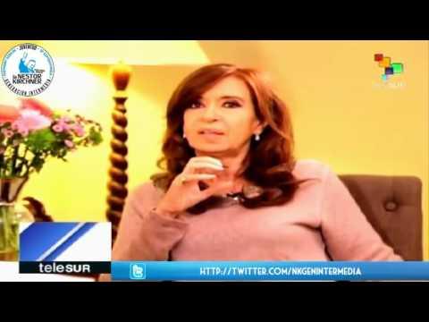 Cristina Fernandez en Telesur 12/05/17 Completo