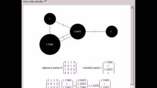 Network Centrality Using Eigenvectors