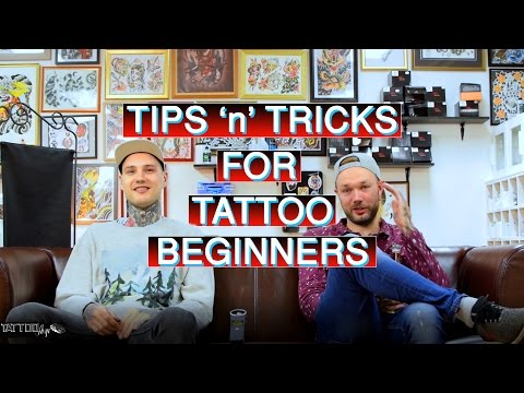 Tips and Tricks for Tattoo Beginners