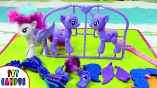 Rarity and Princess Luna Pop Style & Decorate Delux Set My Little Pony   ToysReview ToyCampus