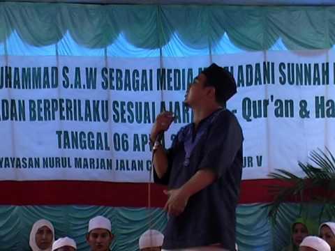 Maulid Nabi SAW Majelis Nurul Marjan Bersama Alm. Uje Tgl 6 April 2007 (3/4)