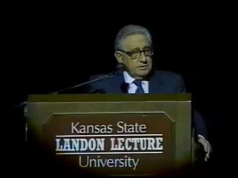 Landon Lecture | Henry Kissinger