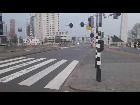 spoedtranssport 11-4-2018 boompjes Rotterdam