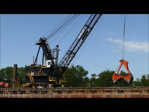 90 Ton Capacity Clyde Dredge - Part 1