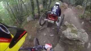 Project ENDURO Finale Ligure, Nato Base Downhill, 4 Wheel Bike Full Run