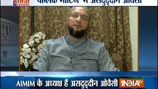 Asaduddin Owaisi on PM Modis Pakistan Policy - India TV