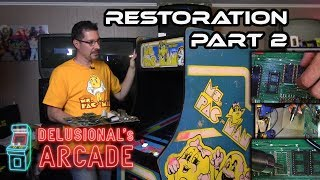Ms. Pac-man upright arcade restoration [Part 2]