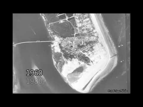 Vilano Beach & Porpoise Point Evolution (2017 update)