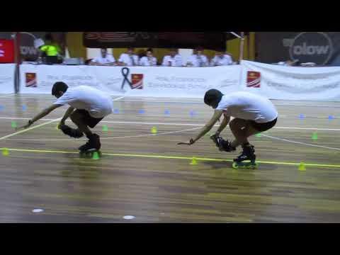 Miguel Peña y Paula Royo, de Skating Dreams (Castilla la Mancha)