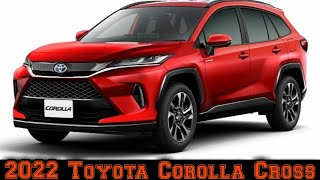 2022 Toyota Corolla Cross - Interior - Exterior - Reveal - Compact SUV - Cars Top Speed