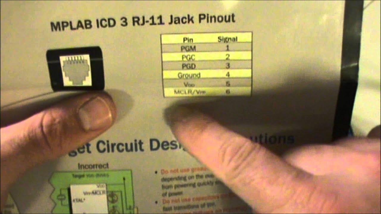 Pic Basics In Circuit Serial Programming Icsp Youtube Jdm2 18f Programmer