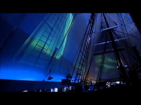 Nordlicht im Fram Museum, Oslo