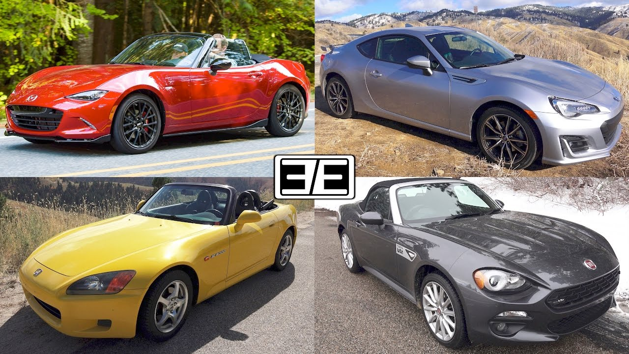 2017 Mazda MX-5 Miata vs 2017 Subaru BRZ: Which One Is